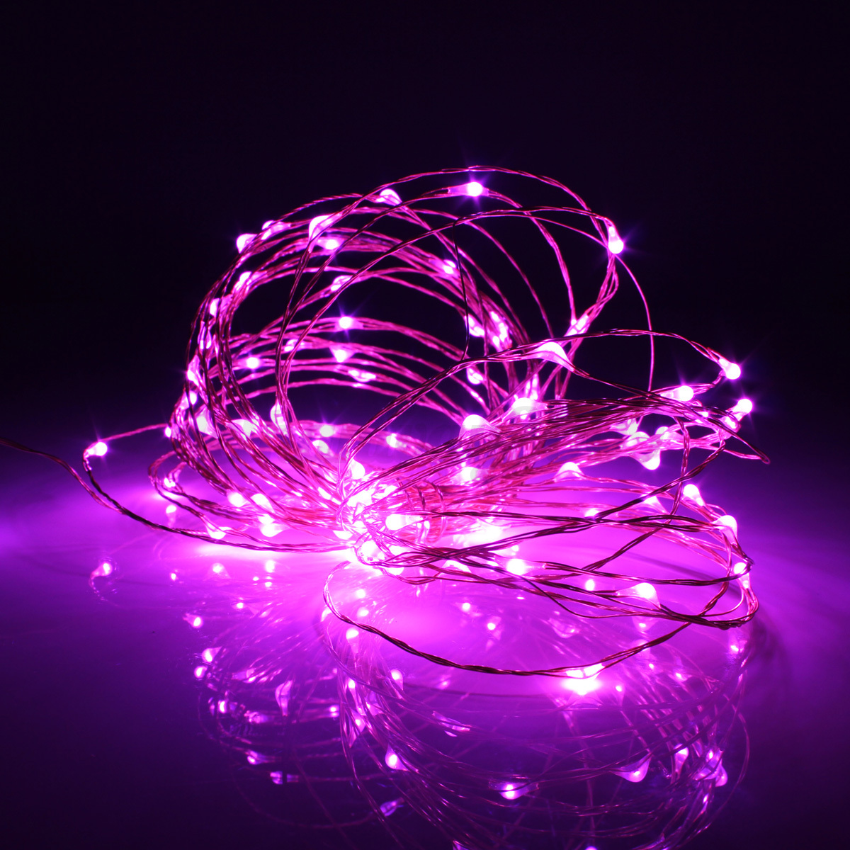Starlight Led String Lights 10 Copper Wire : 10M 100 LED Solar Powered Starry String Fairy Light Copper Wire Ambiance Light eBay