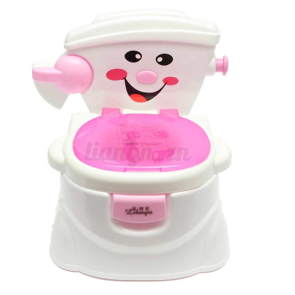 b b pot de toilette si ge couvercle porte papier musique formation enfant ebay. Black Bedroom Furniture Sets. Home Design Ideas