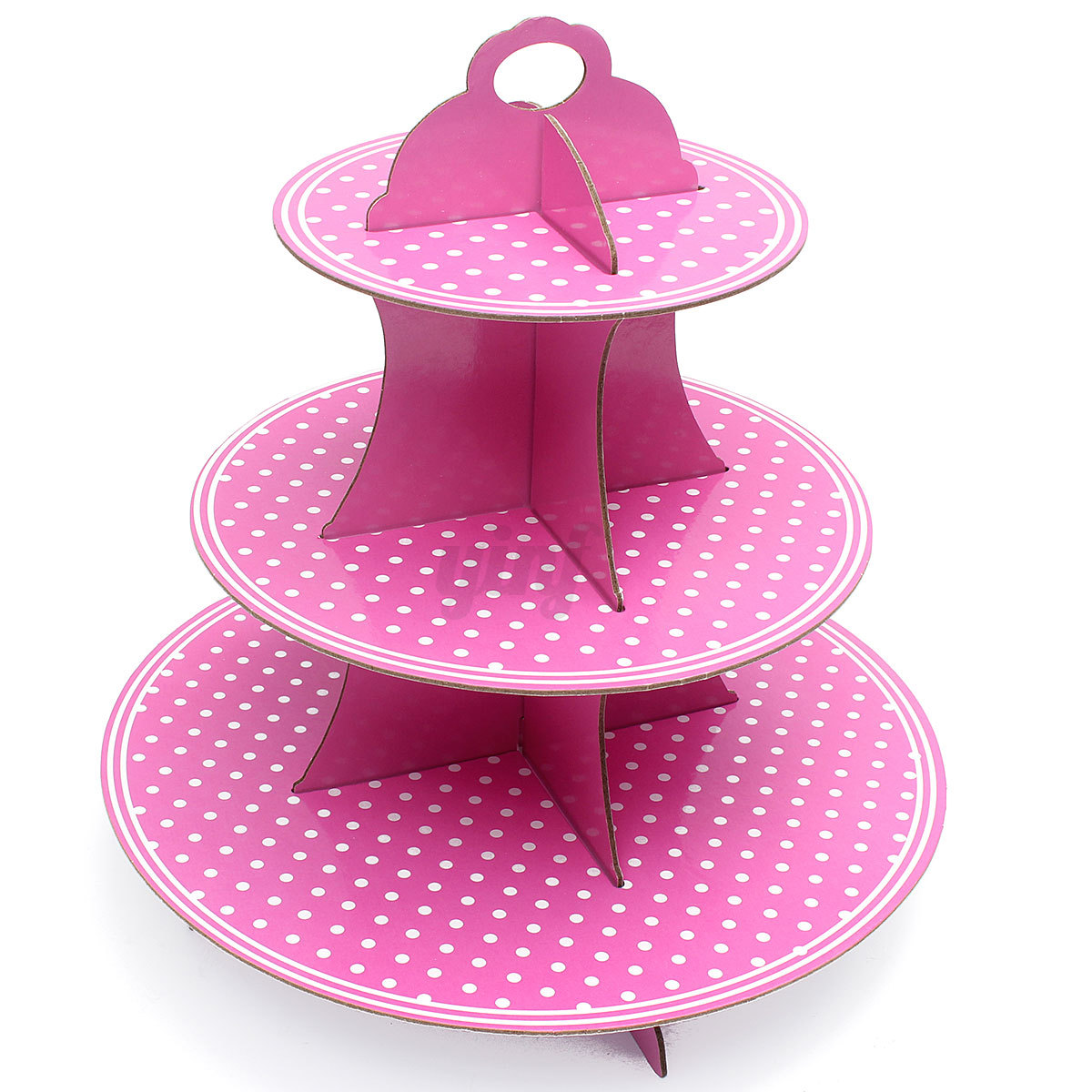 To look at this amazing cupcake stand, you'd be hard-pressed to believe that the main ingredient is – cardboard! That's the secret to its simplicity and also its amazing looks, so why not follow the guide you'll find below and whip one up at home today?