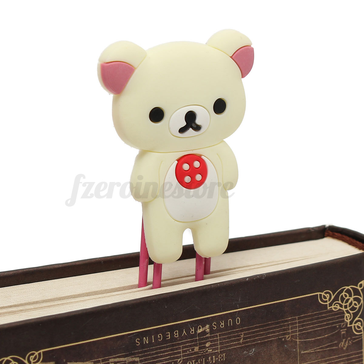 Lovely Cartoon Animal Paper Note Fancy Bookmark Memo Clip Children Kid Xmas Gift