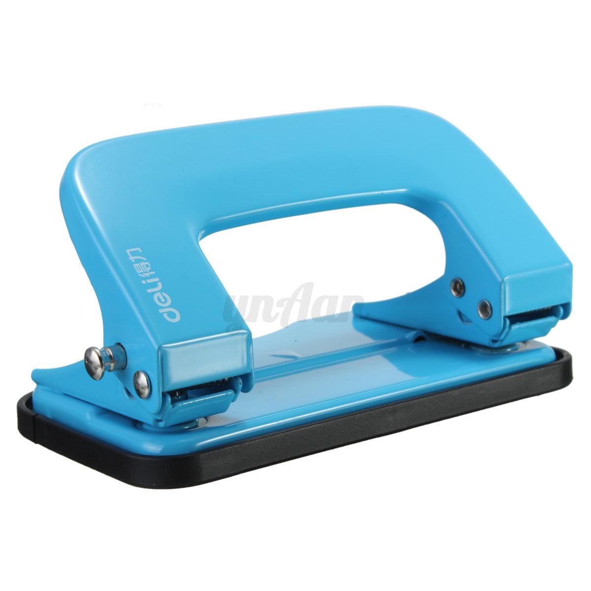 Deli Metal 2 Hole Desk Paper Punch File Perforator Home
