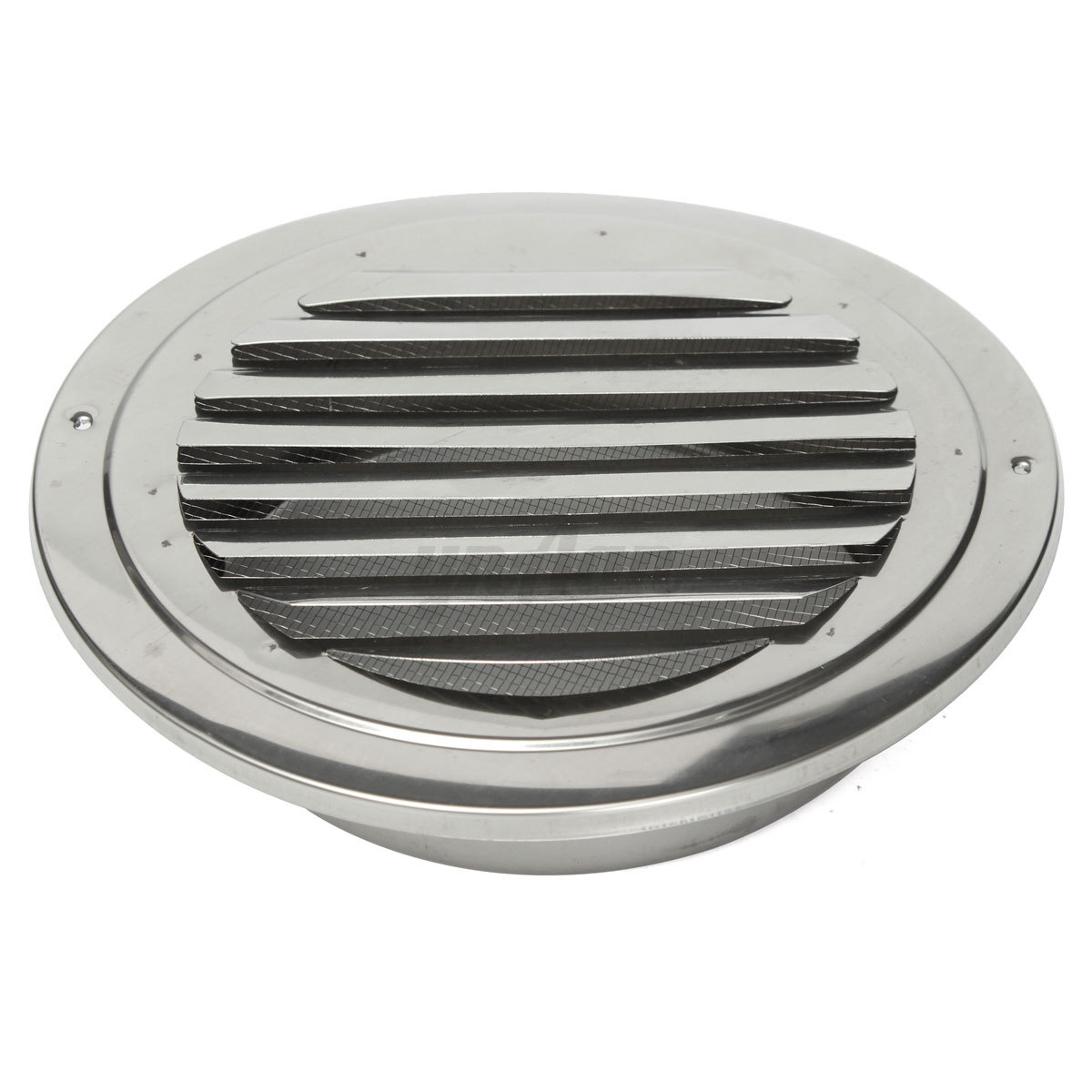 Vent box in the wall using metal ducting photo credit in o vate - Stainless Steel Wall Air Vent Grille Round Cover