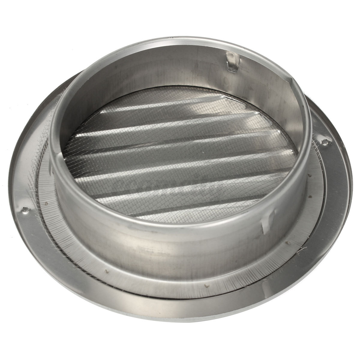 Metal Circle Air Vent Grille Round Ducting Ventilation