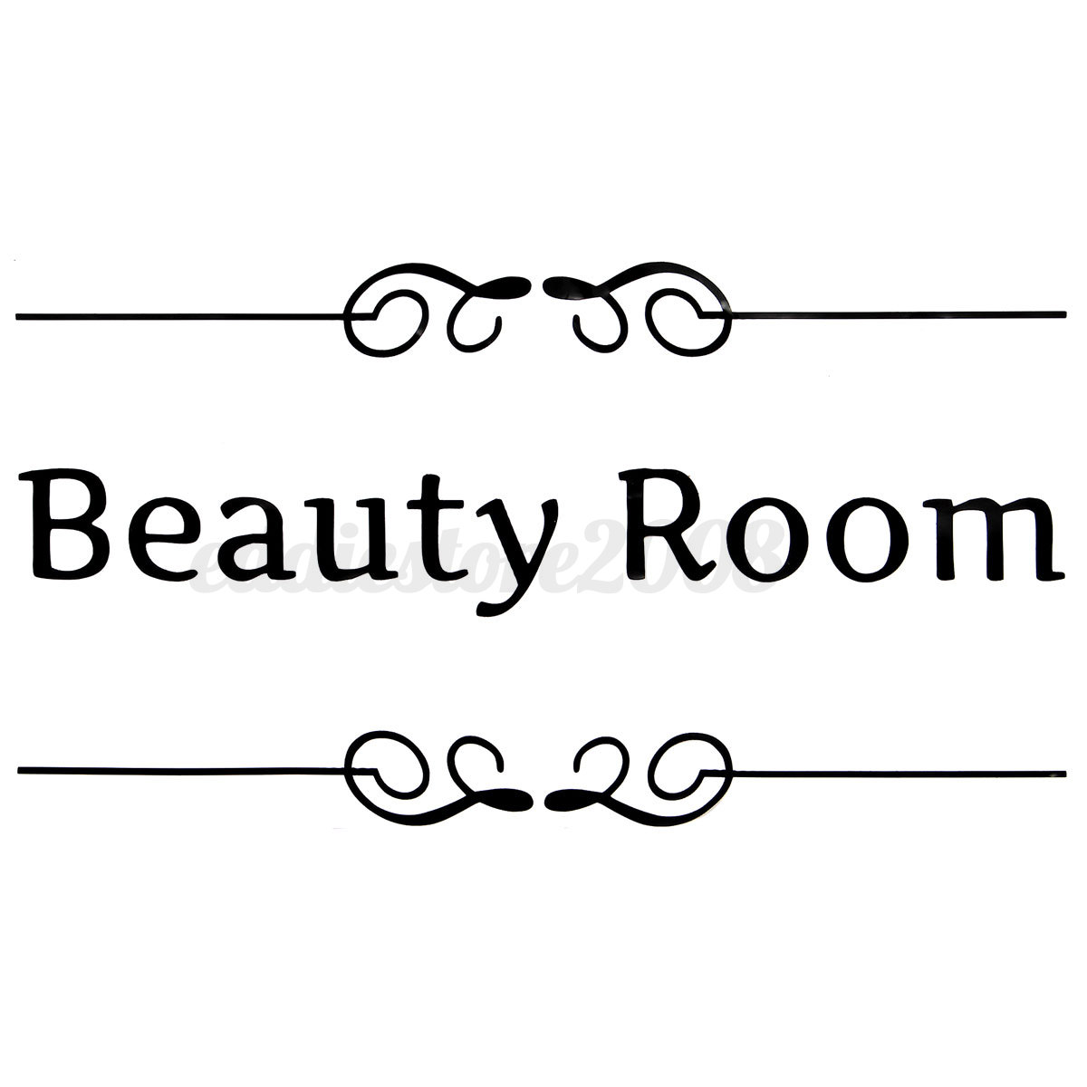 Bathroom sign for home - Bathroom Toilet Laundry Room Wall Stickers Art Decal
