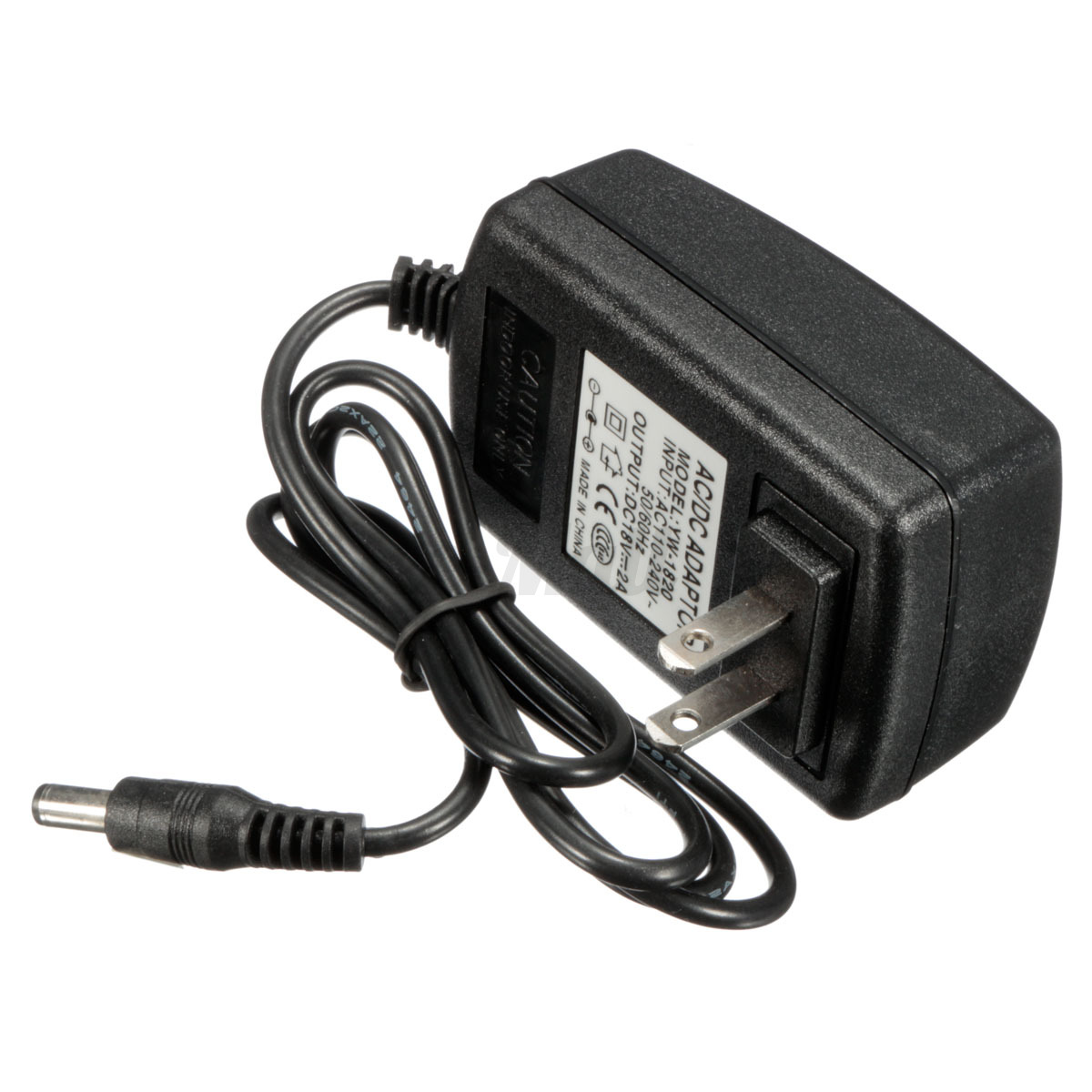 Dc Power Cable : Ac v adapter dc a power supply cord cable