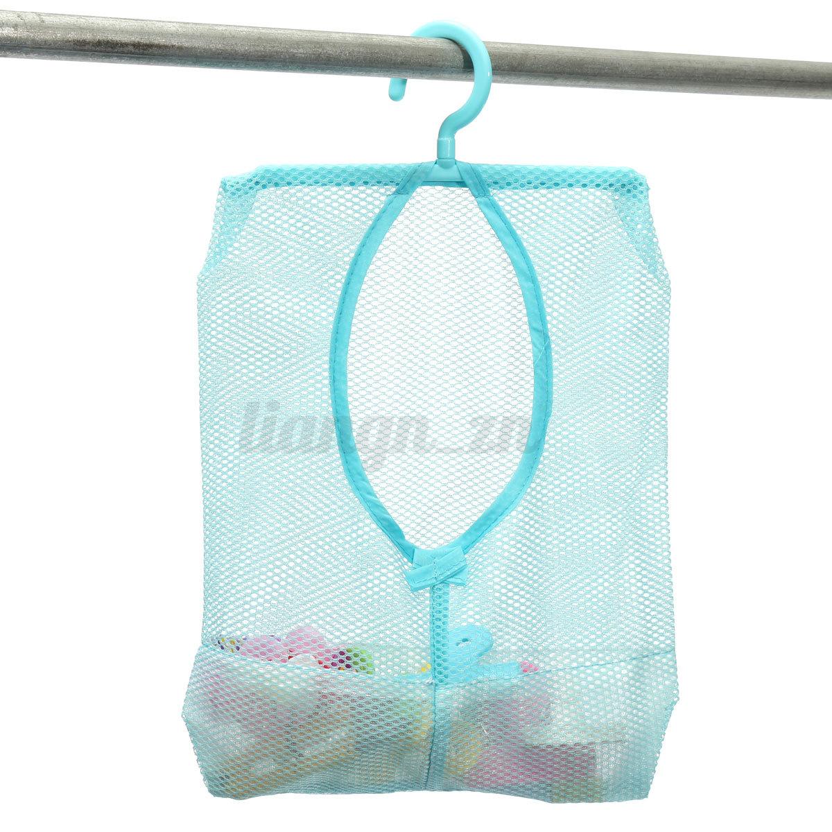 Housse sac filet rangement stockage suspendu v tement salle de bain organisateur ebay for Organisateur salle de bain