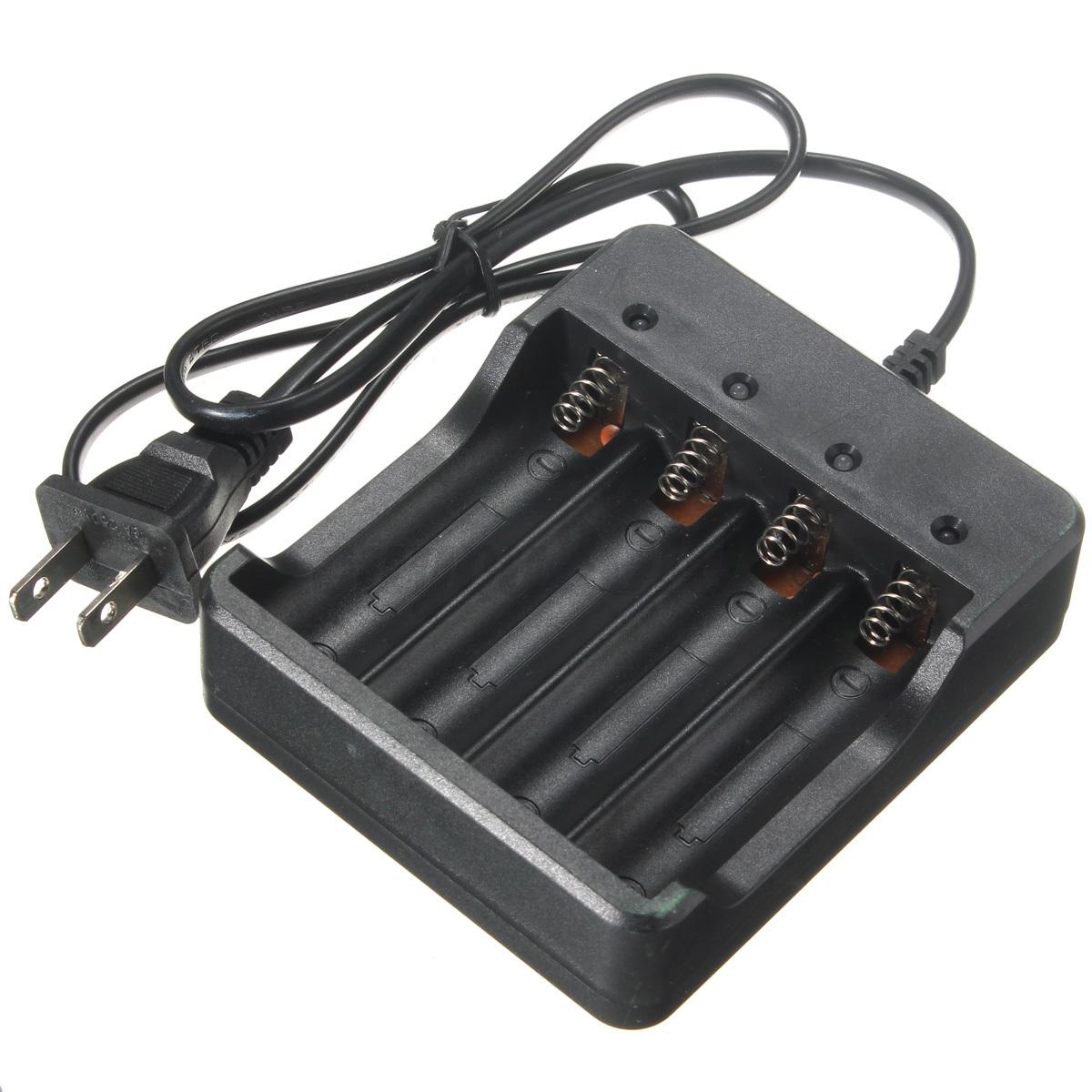rechargeable charger chargeur de batterie pile universel li ion pour 18650. Black Bedroom Furniture Sets. Home Design Ideas