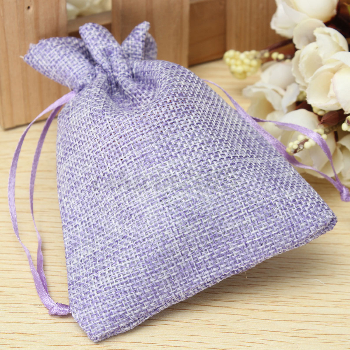 ... -Natural-Jute-Hessian-Drawstring-Pouch-Burlap-Wedding-Favor-Gift-Bags