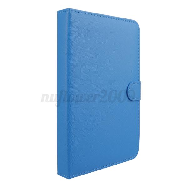 Wireless Bluetooth Keyboard Holster Flip PU Case For Cellphone in 4.5''-6.5''