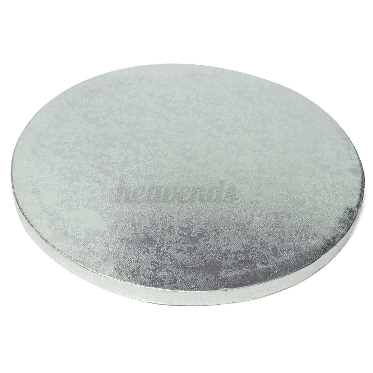 silber rund kuchenplatte tortenplatte st nder halter f r hochzeit geburtstag neu ebay. Black Bedroom Furniture Sets. Home Design Ideas