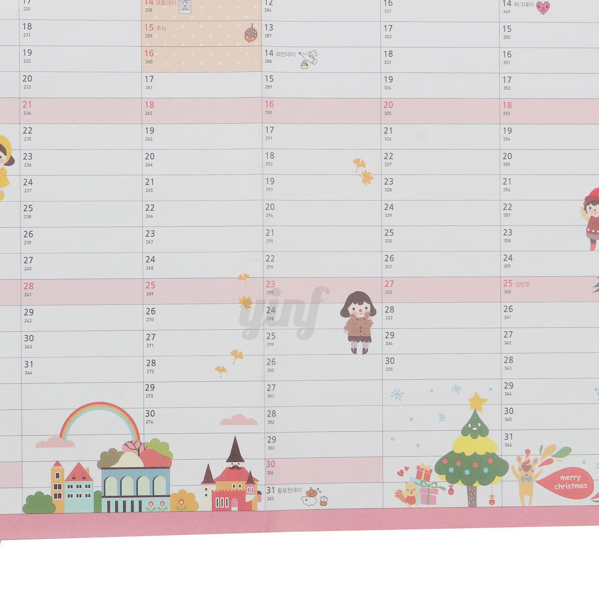 Hanging Planner Calendar : Year wall calendar home office month planner large