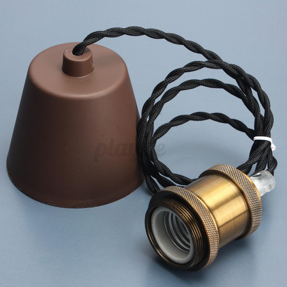 Ceiling Lamp Holder Kit To Pin On Pinterest E27 Brass Copper Holderwireceiling Base Pendant Light Without Fittings Ebay E27e26