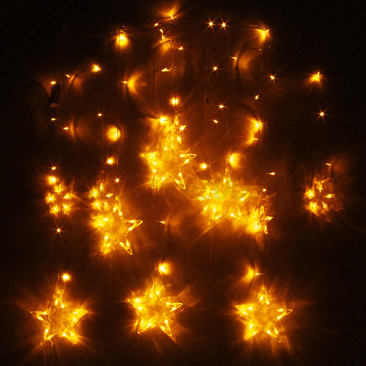 String Lights Wall : 138 LED Christmas Wedding Xmas Party Decor String Fairy Window Wall Star Light eBay