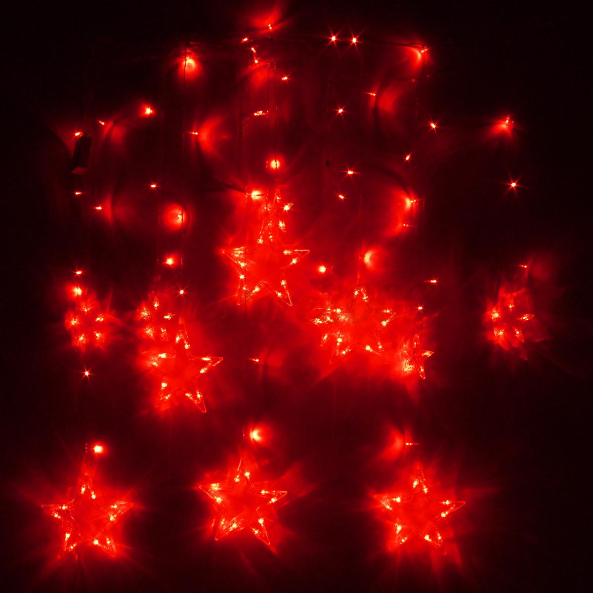138 LED Christmas Wedding Xmas Party Decor String Fairy Window Wall Star Light eBay