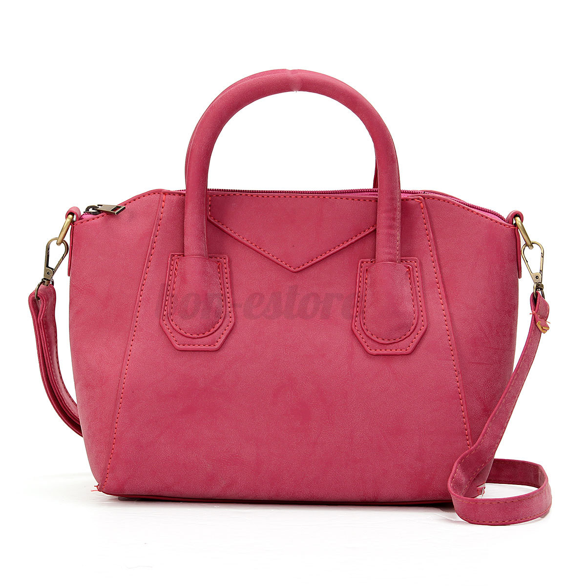 Women Leather Shoulder Ladies Purse Handbag Satchel ...