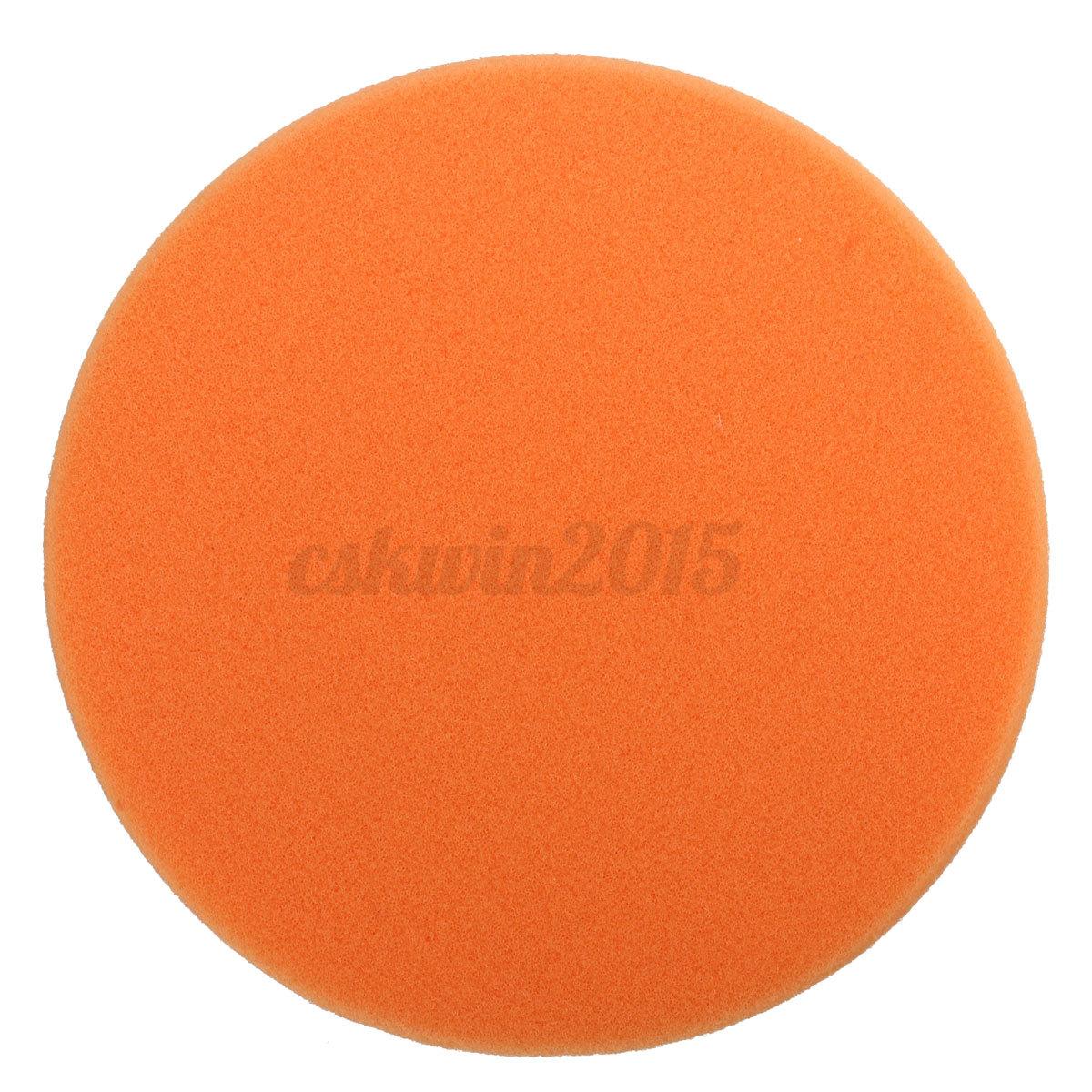 6 Inch 150mm Soft Flat Sponge Buffer Polishing Pad Kit For