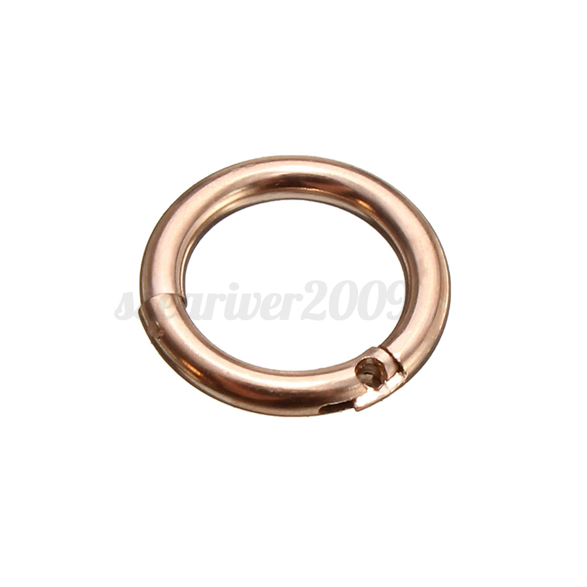 Cool 16g Stainless Steel Hinged Septum Segment Hoop Ring