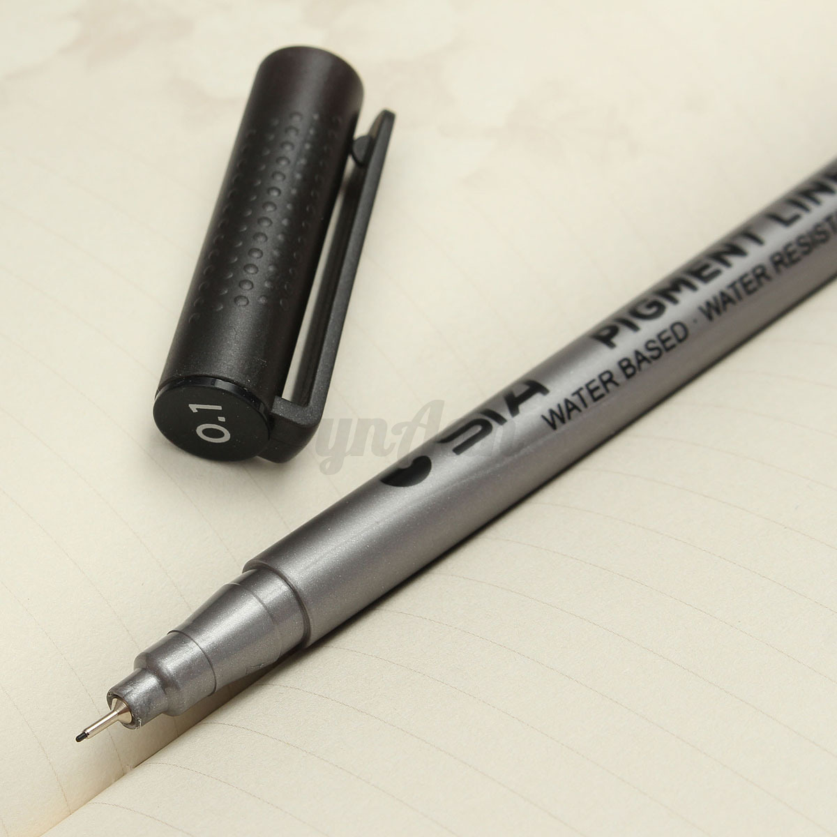 Line Drawing Pen : Black fine line pen waterproof drawing writing sketching