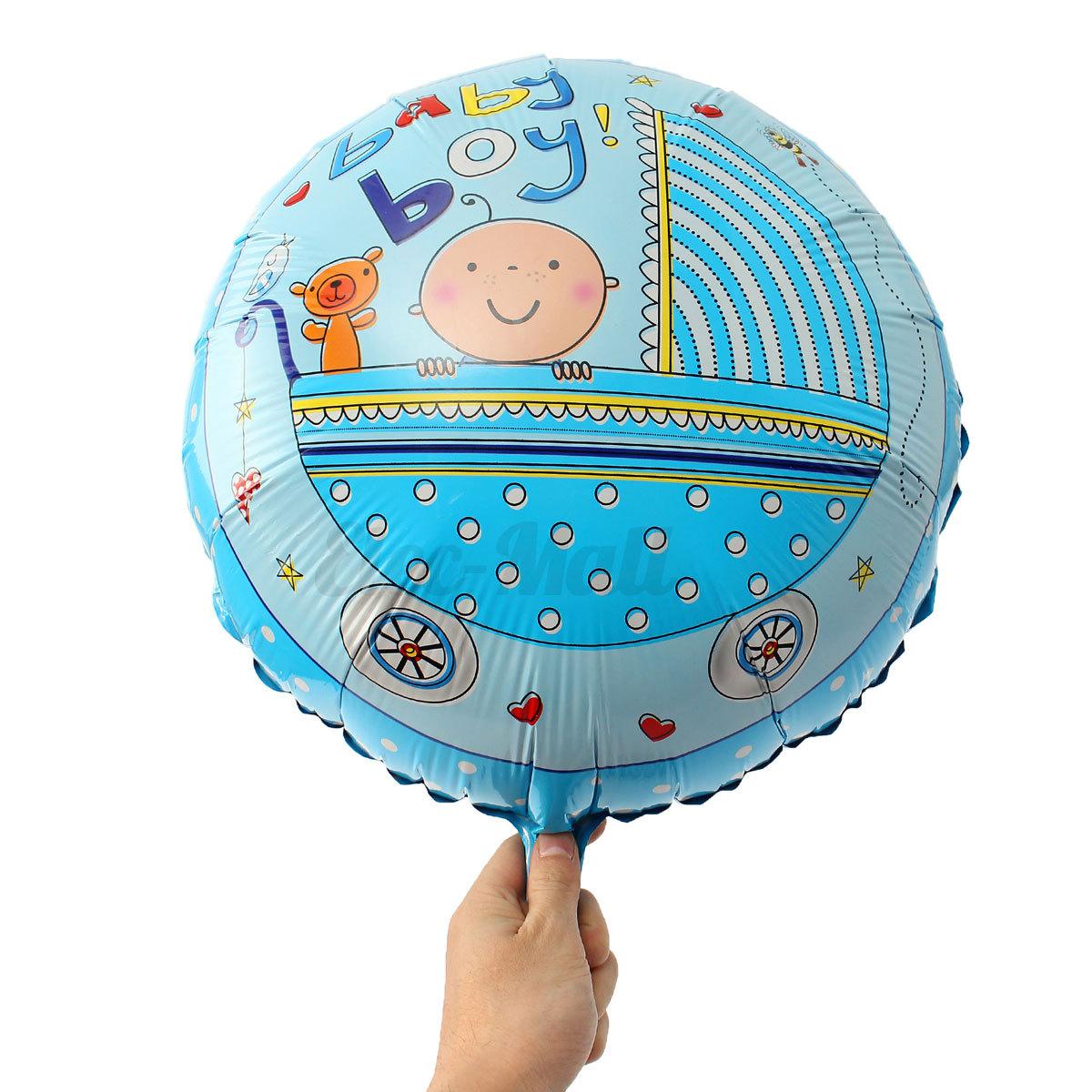 Helium Balloons Baby Shower: 18'' Aluminum Foil Balloon Helium Balloons Baby Shower