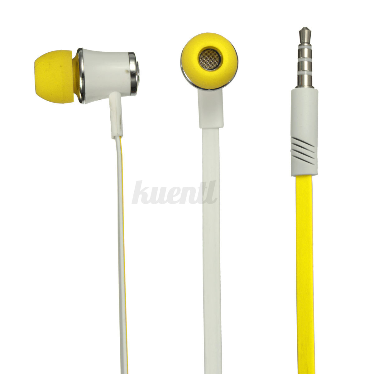 Iphone earbuds yellow - retractable iphone earbuds lightning