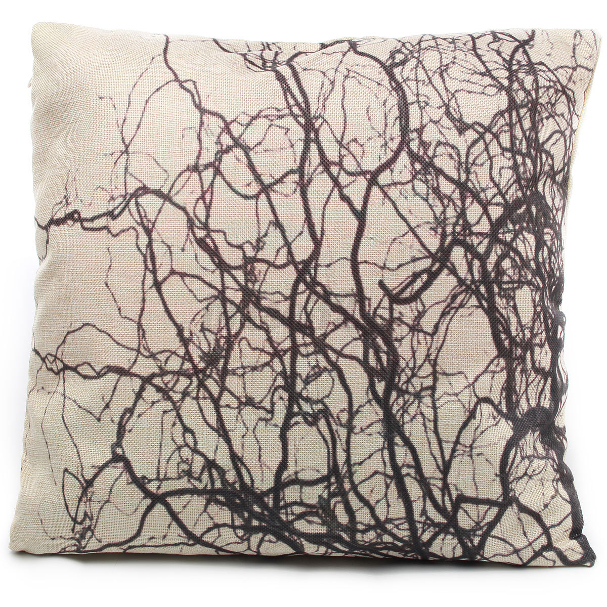 Cotton Linen Forest Throw Pillow Case Cover Bed Sofa Pack Cushion Home Decor eBay