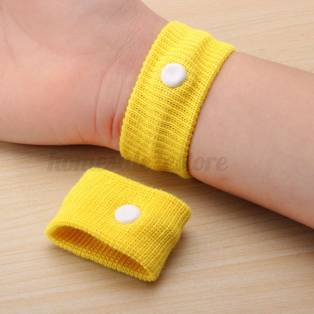 Nausea wristbands