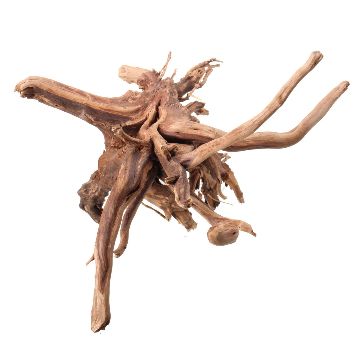 4 size natural wood driftwood aquarium fish tank tree for Aquarium wood decoration