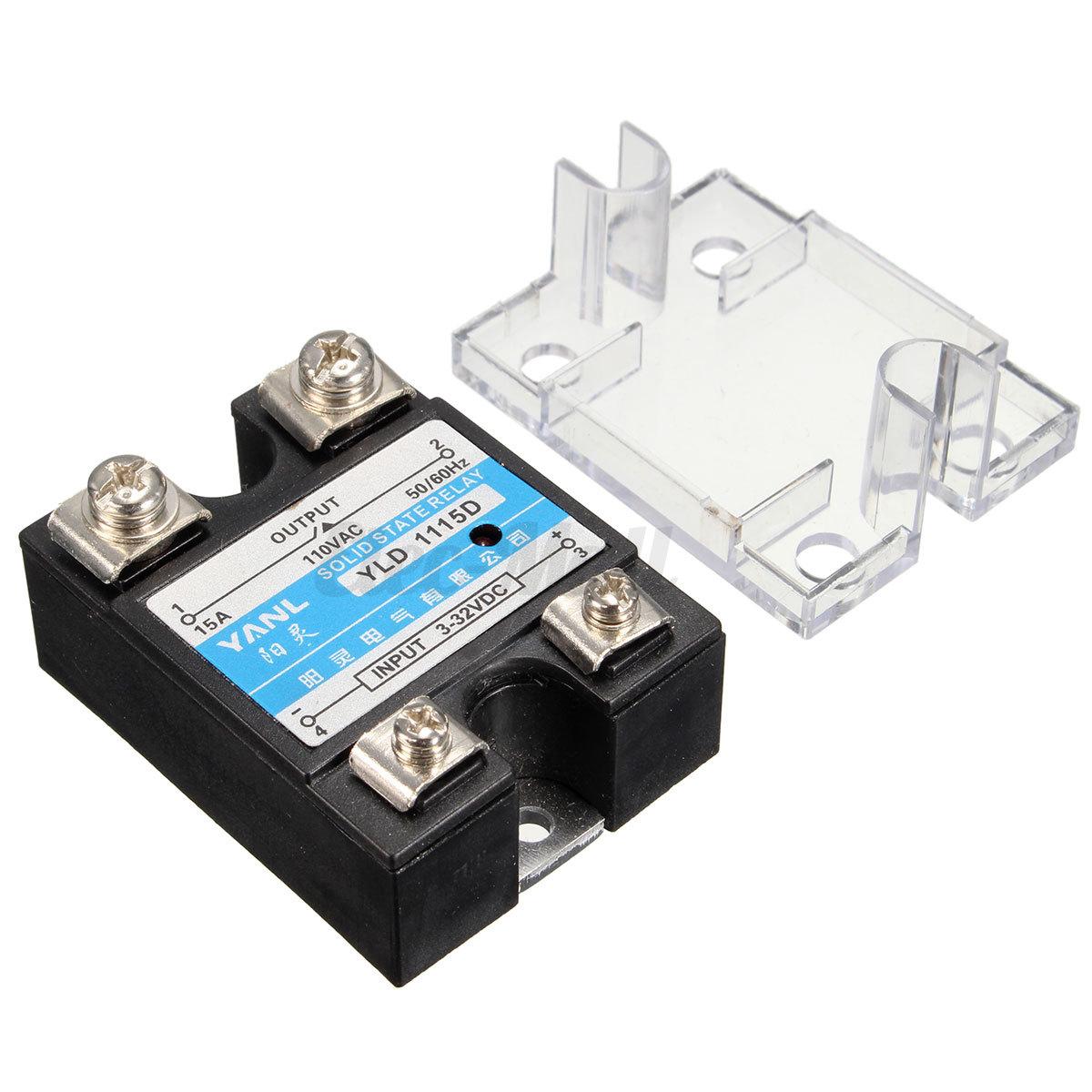 DC 5V 220V Solid State Relay for Temperature Controller Arduino eBay #0E84BD