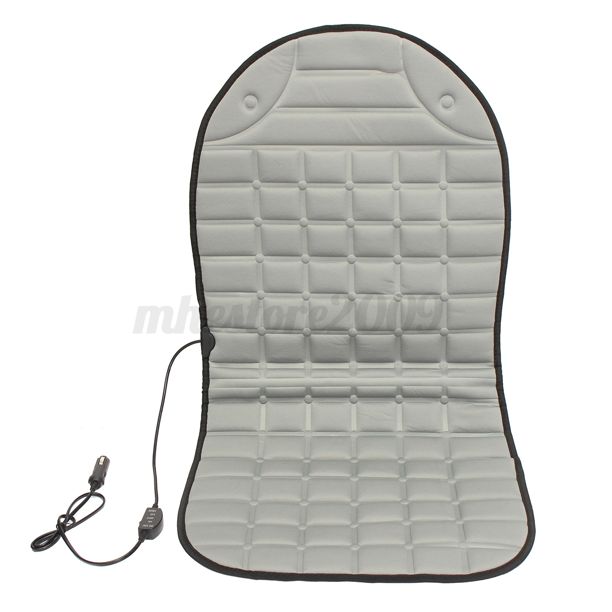 universal 12v car electric heated heating front seat cushion cover warmer pad ebay. Black Bedroom Furniture Sets. Home Design Ideas