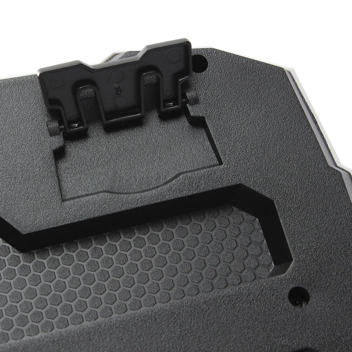 usb gaming tastatur led beleuchte gamer keyboard qwerty f r pc laptop win xp 7 8 ebay. Black Bedroom Furniture Sets. Home Design Ideas