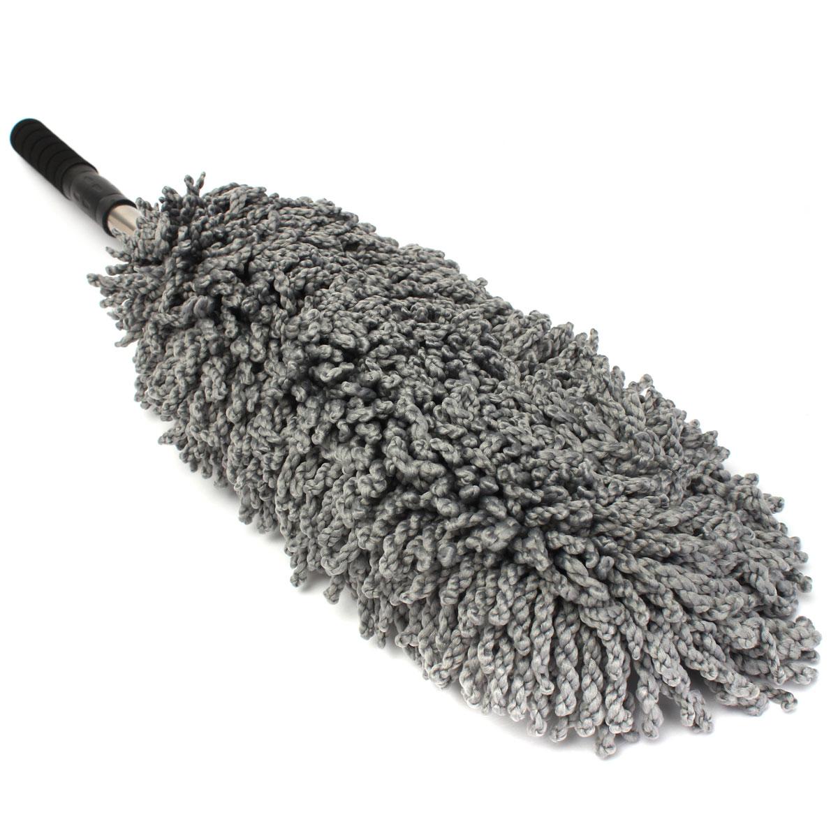 Large Microfiber Telescoping Car Wash Body Duster Brush Dirt Dust Mop