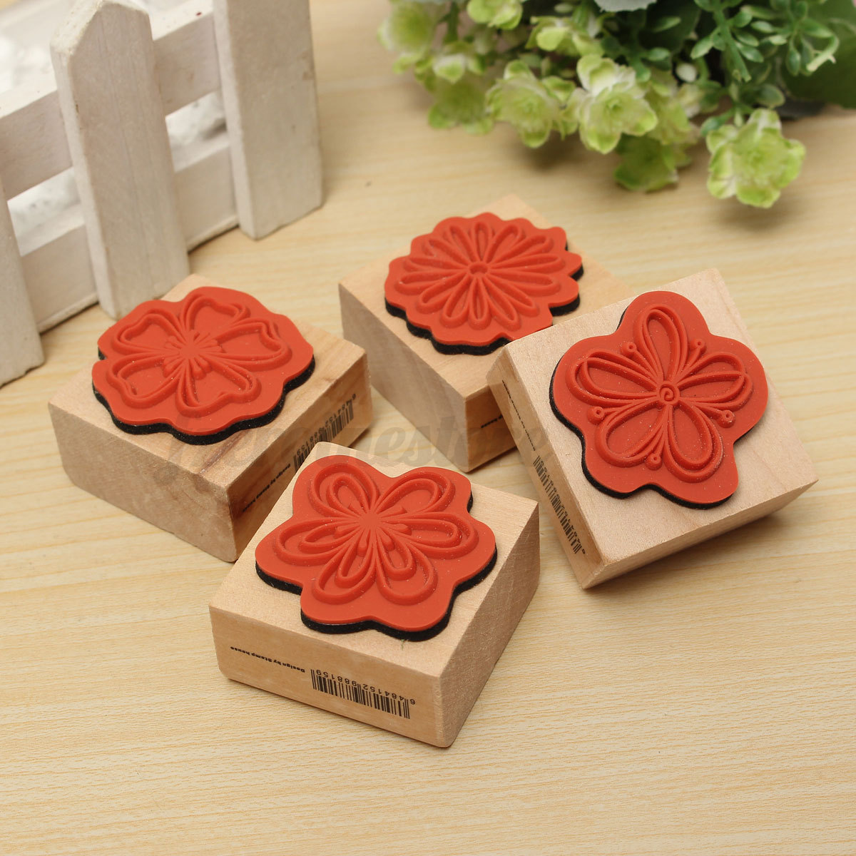 Multi Style DIY Rubber Wooden Stamp Scrapbooking Craft ...