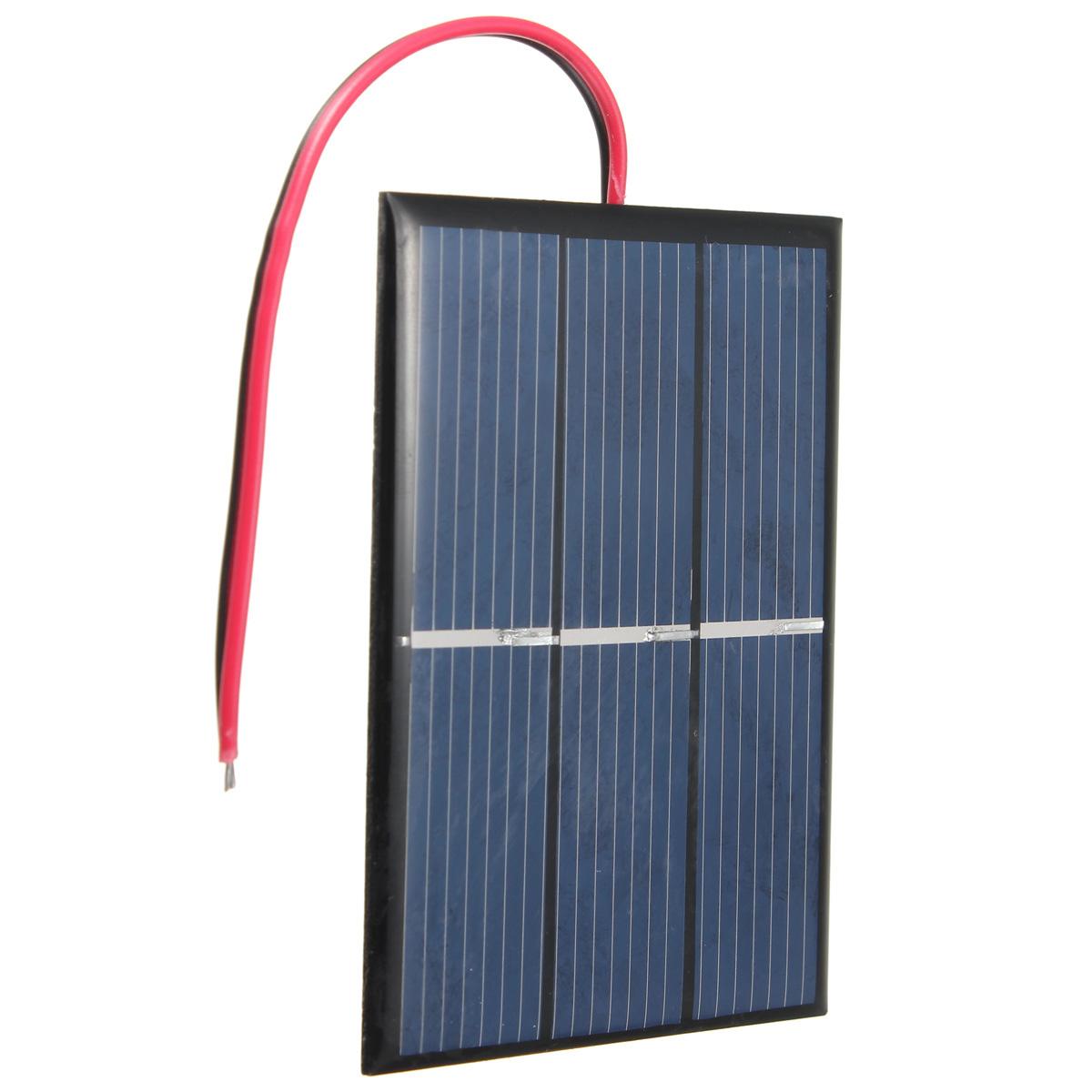 Pannello Solare Per Batteria 100 Ah : V ma w solare pannello fotovoltaico per auto