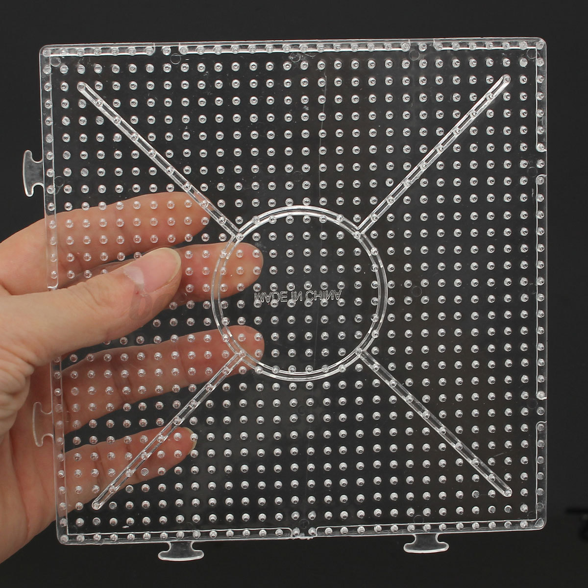 large pegboards for perler bead hama fuse clear