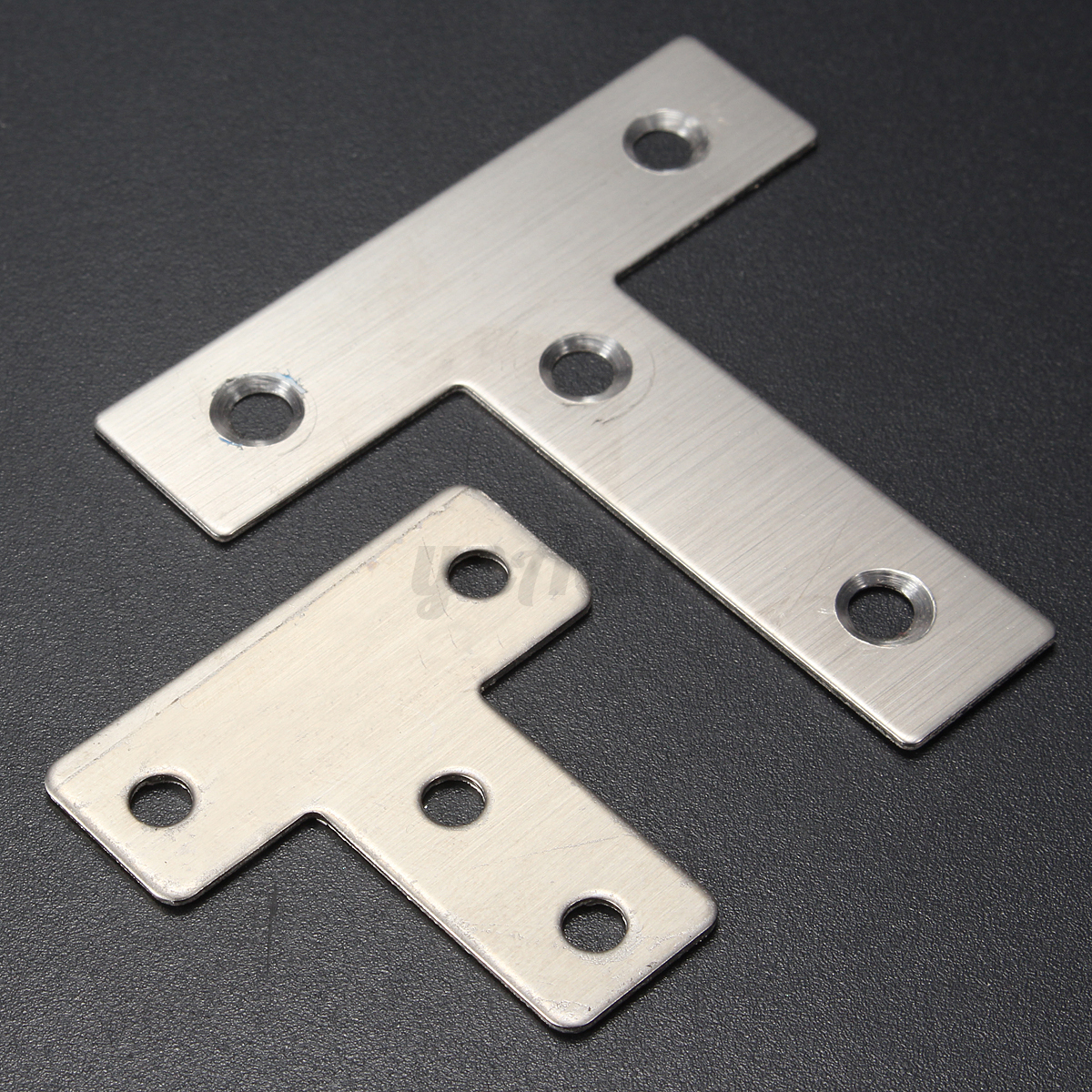 Steel T Shapes : New stainless steel corner right angle repair bracket