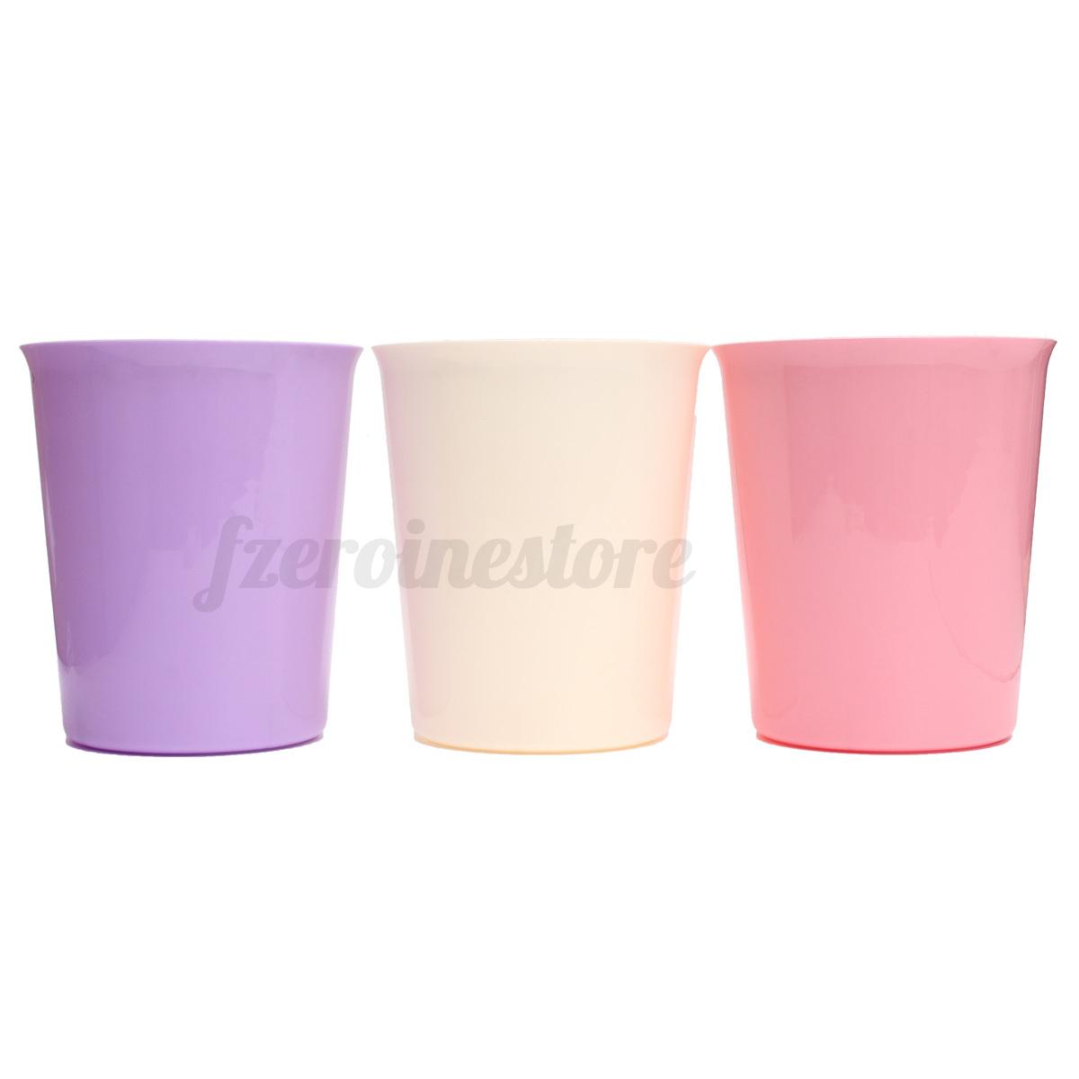 Plastic Bin Bins Waste Storage Paper Dust Rubbish Basket
