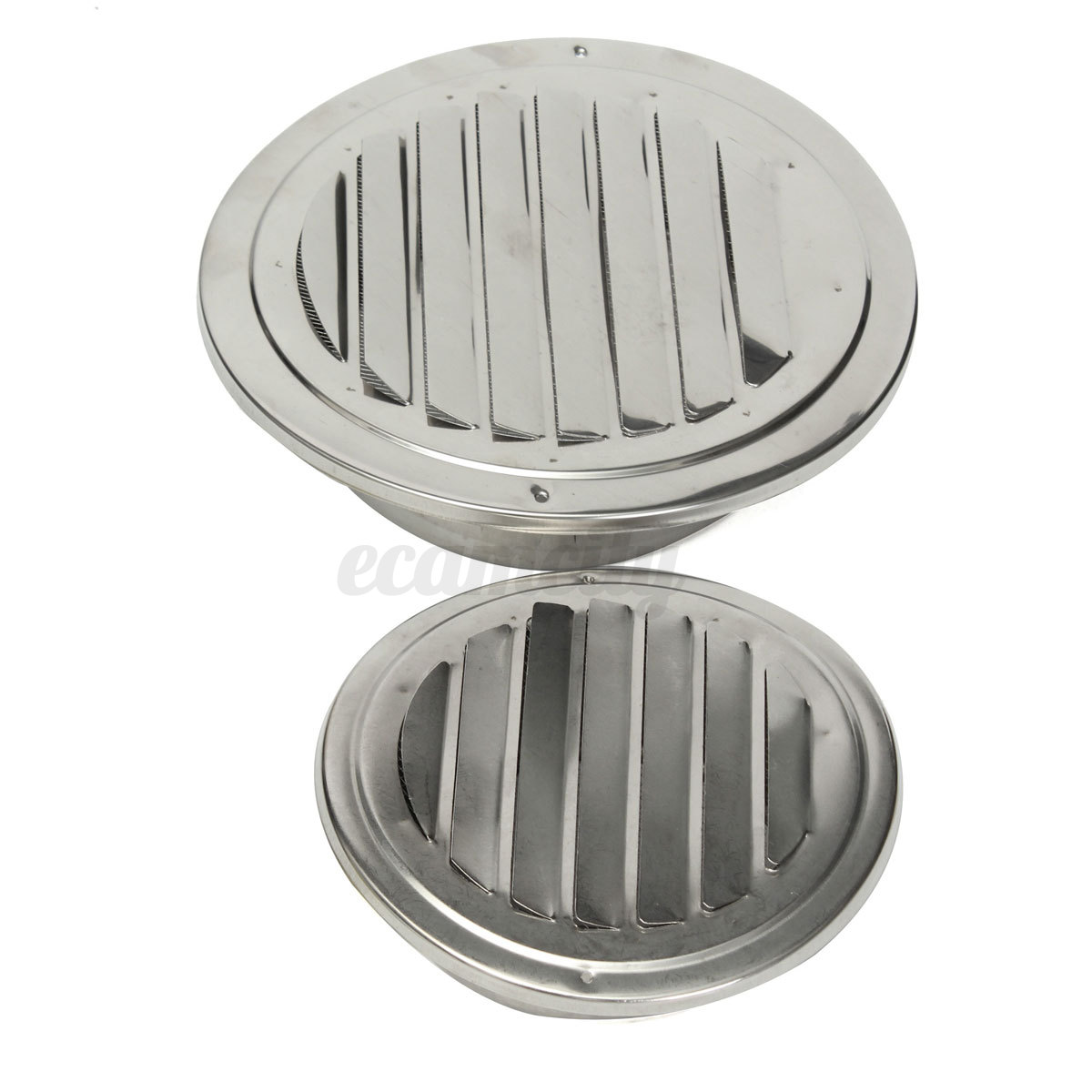 metal circle air vent grille round ducting ventilation cover ceiling wall 4 5 ebay. Black Bedroom Furniture Sets. Home Design Ideas