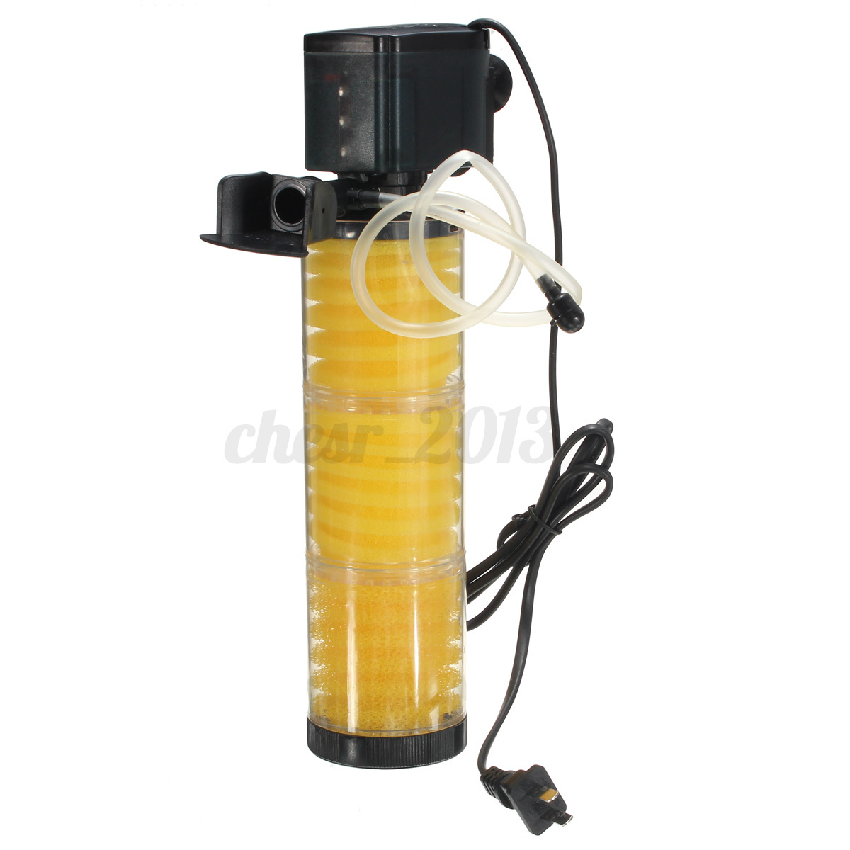 how to clean fish tank filter pump