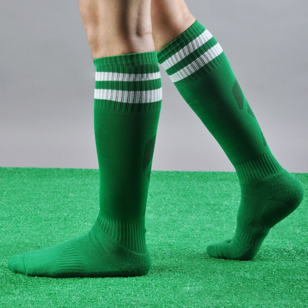 Knee socks have been a part of men's fashion since socks were invented, from ancient Roman warriors to Scottish Highlanders, and they're still just as popular today. Almost every sport played by men has made use of knee socks of some kind.