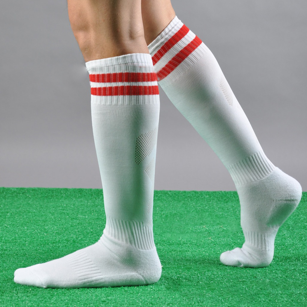 Shop men's knee high socks from DICK'S Sporting Goods today. If you find a lower price on men's knee high socks somewhere else, we'll match it with our Best Price Guarantee! Check out customer reviews on men's knee high socks and save big on a variety of products. Plus, ScoreCard members earn points on every purchase.