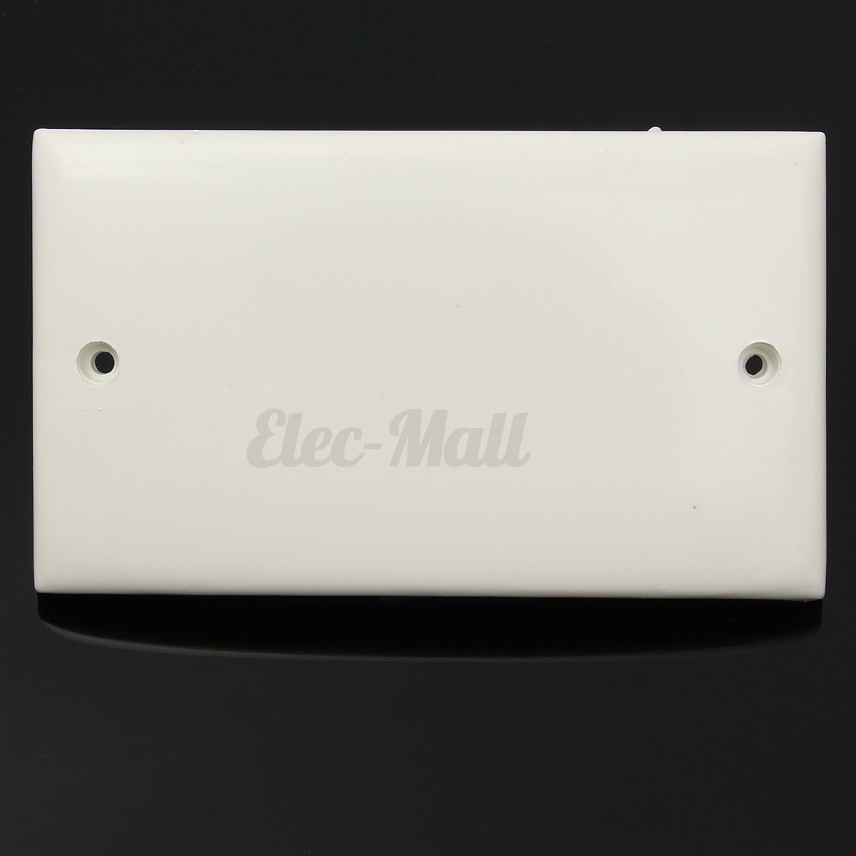 White Plug Electric Mains Wall Switch Socket Single Double