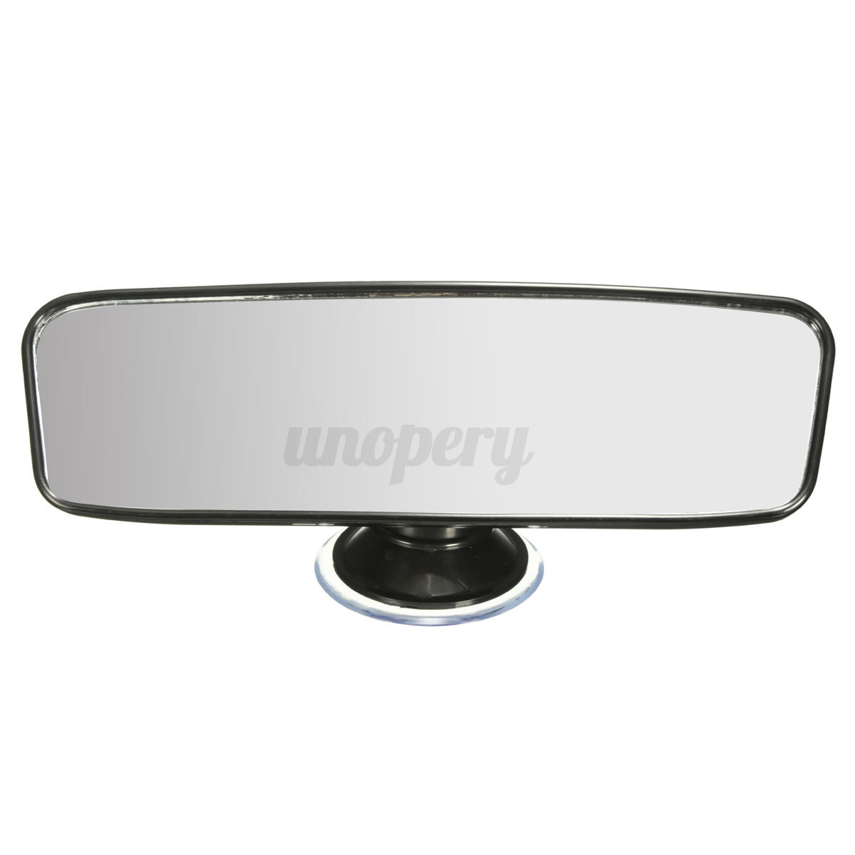 universal 200mm car truck wide flat interior rear view mirror suction rearview ebay. Black Bedroom Furniture Sets. Home Design Ideas
