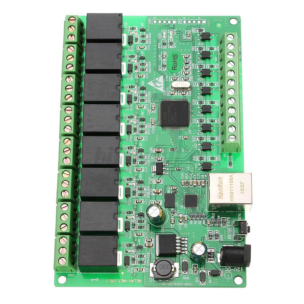 Gregs Network Relay Board 8 Channel Module Wiring Diagram How