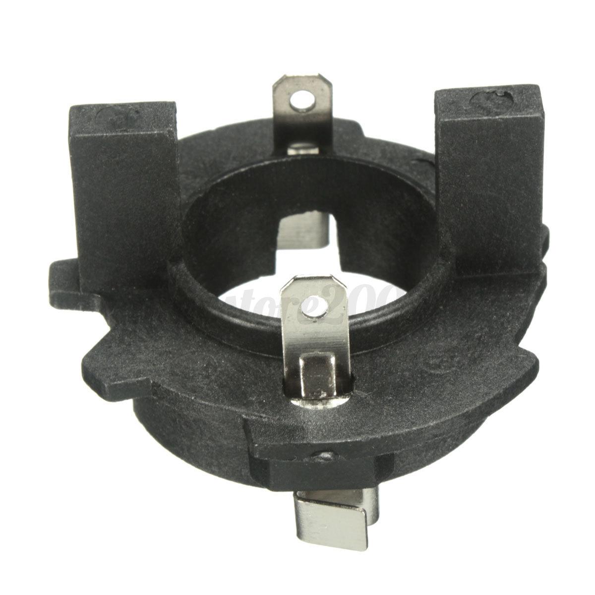 H7 Headlight Bulb Socket : Hid h bulb headlight socket holders adapters connector