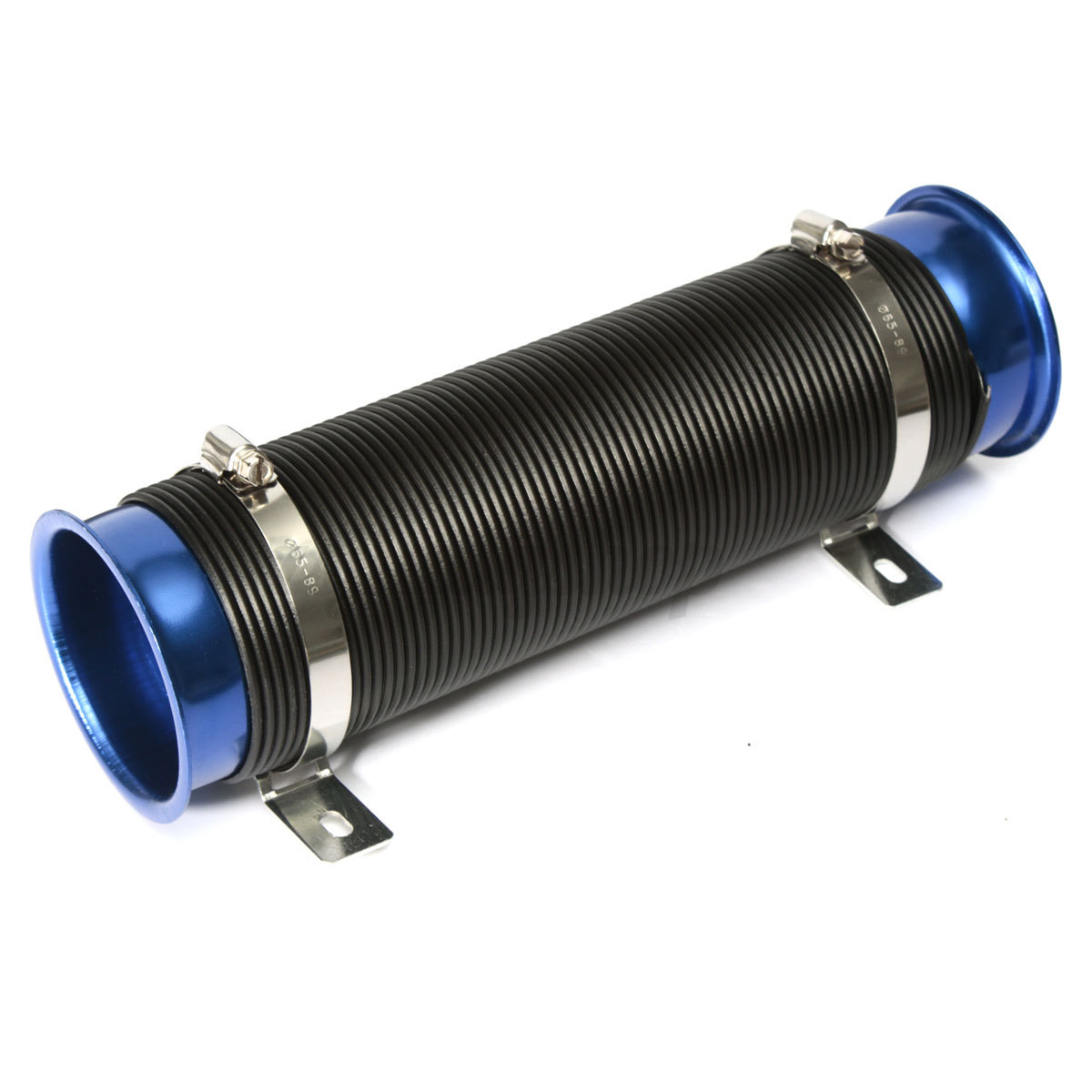#1C56AF Universal 3'' Flexible Car Tubro Cold Air Intake Tube Pipe  Recommended 907 Air Duct Tubing pics with 1200x1200 px on helpvideos.info - Air Conditioners, Air Coolers and more