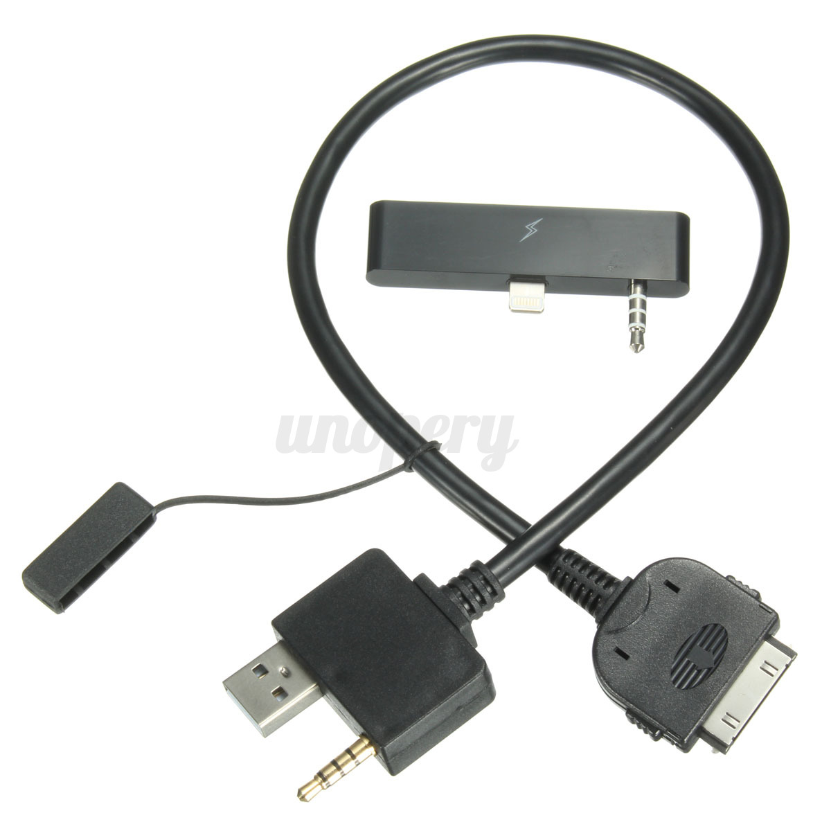 audio aux plug jack to usb 2 0 male charge cable. Black Bedroom Furniture Sets. Home Design Ideas