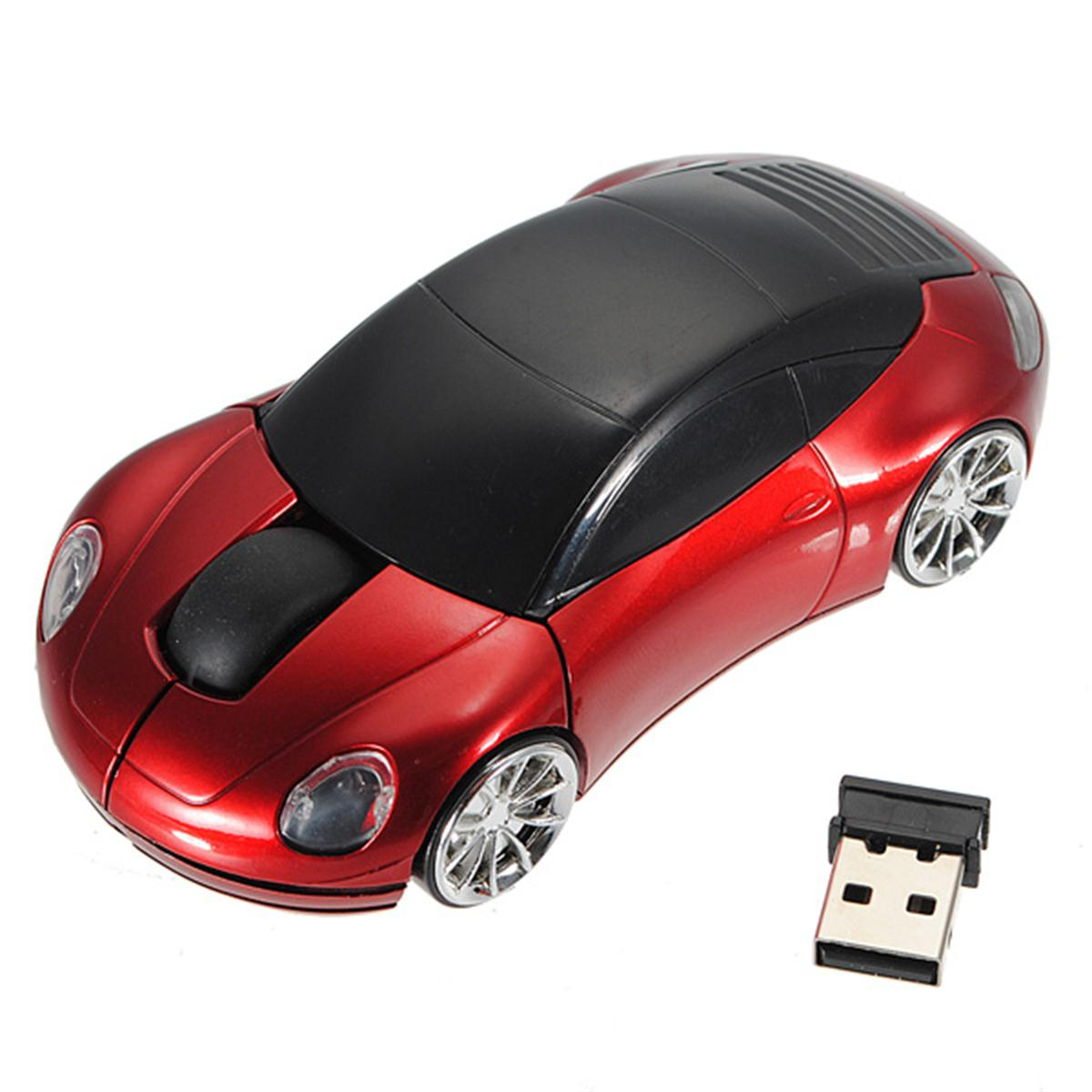 led 2 4ghz souris sans fil optique voiture car 1600dpi usb wireless mouse laptop ebay. Black Bedroom Furniture Sets. Home Design Ideas