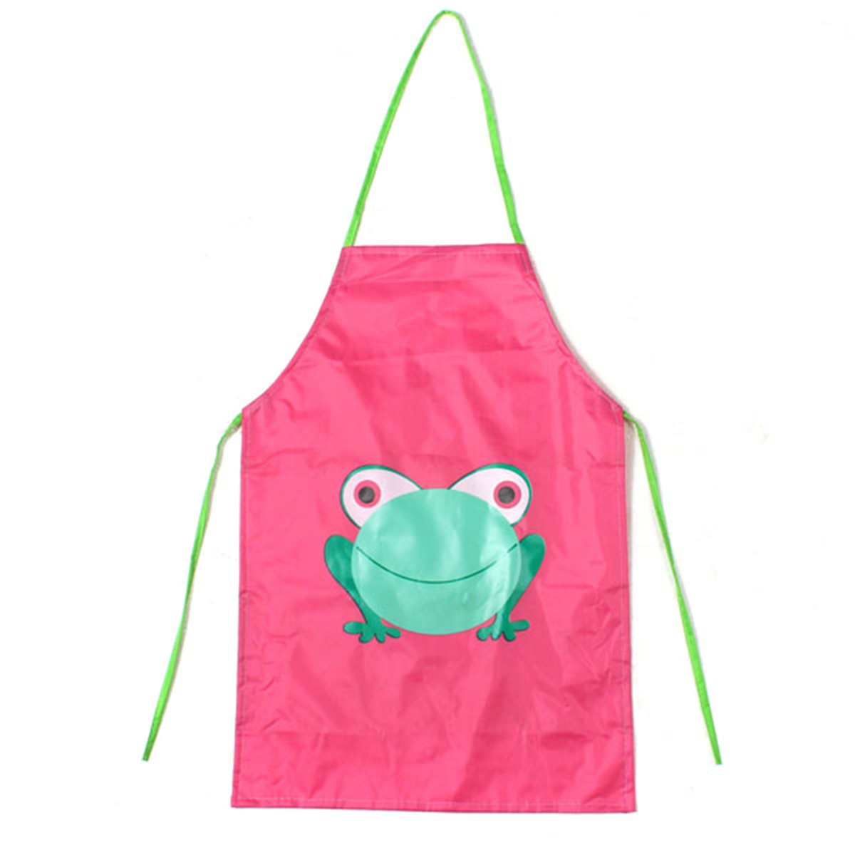 tablier cuisine enfant peinture maternelle dessin grenouille blouse 5 couleur ebay. Black Bedroom Furniture Sets. Home Design Ideas