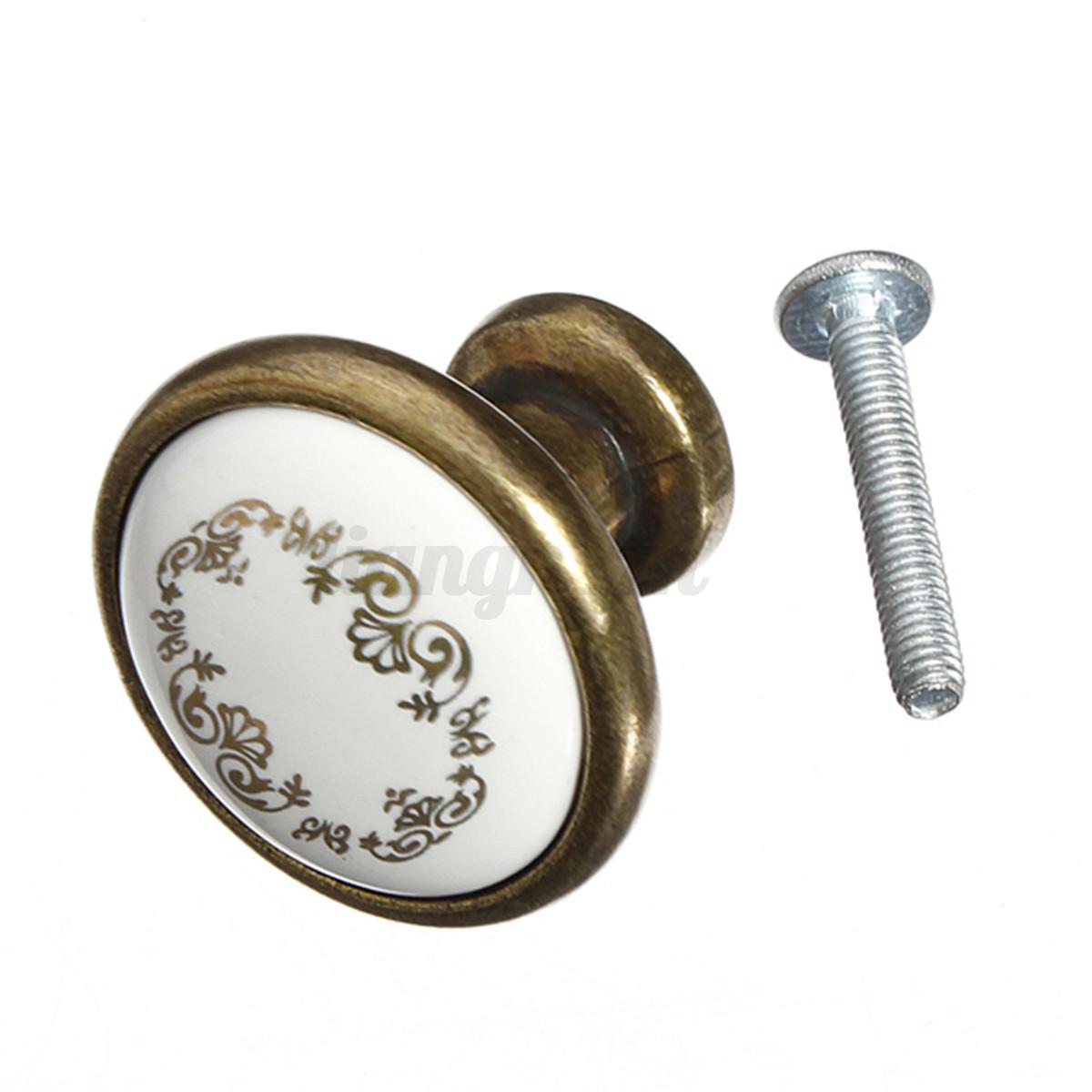 boutons poign e de porte armoire placard cabinet meuble tiroir knob vari t ebay. Black Bedroom Furniture Sets. Home Design Ideas