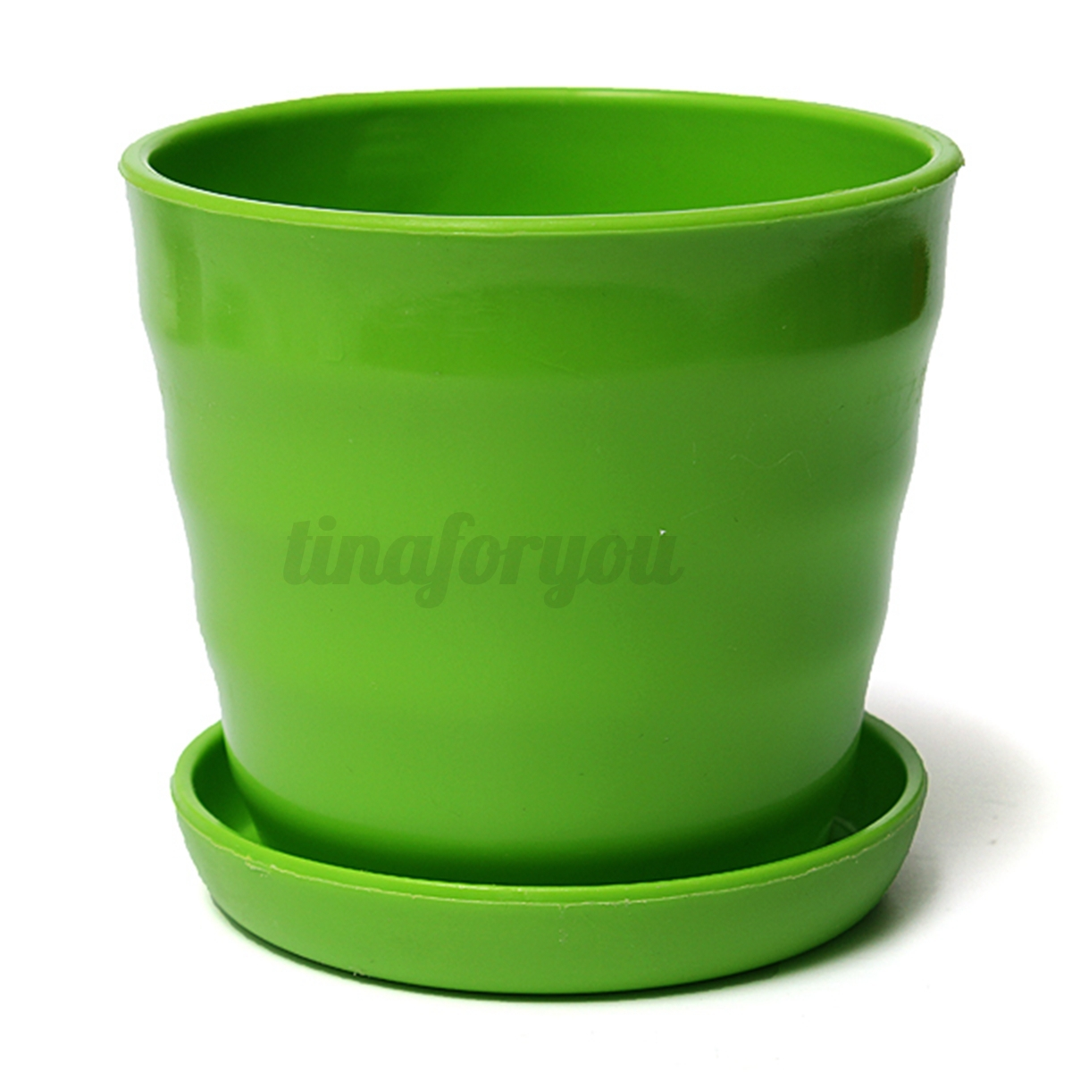 Variety colourful home office decor planter round plastic for Flower pots design images